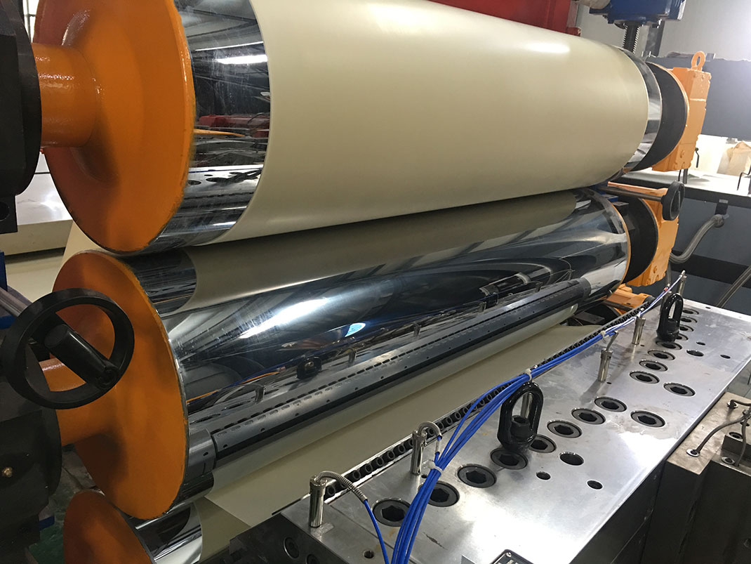 Pvc Corrugated Sheet Extrusion Line Pvc Roofing Sheet