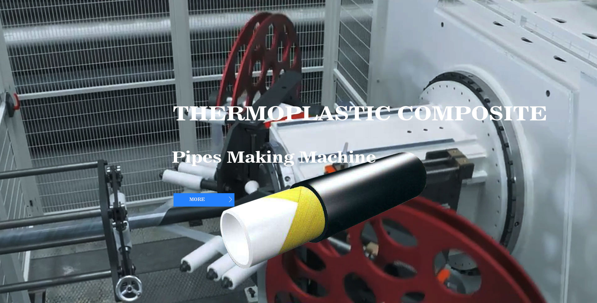 Thermoplastic Composite Pipes Making Machine