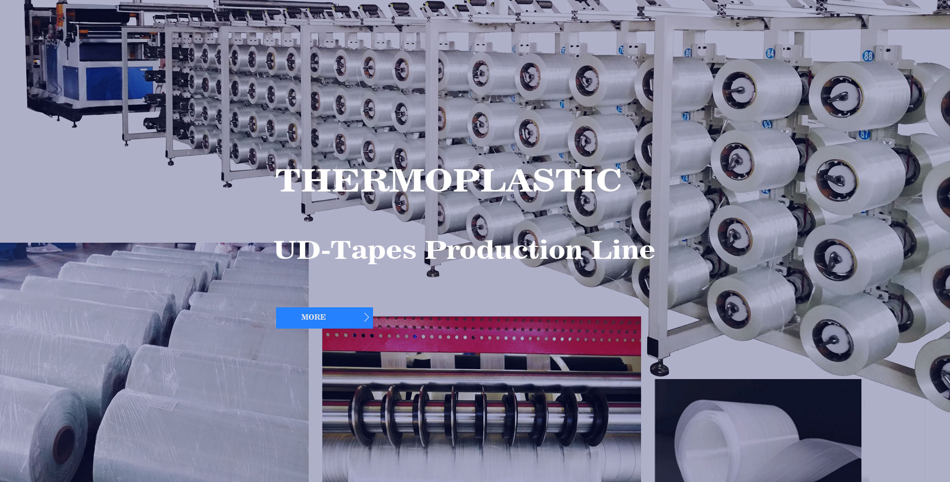 Thermoplastic  UD-Tapes Production Line